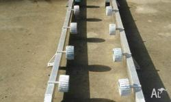 Pontoon Tinny Roller System - Second Hand, Boat