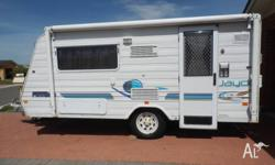 Very good condition. Easy tow. Popular rear kitchen.