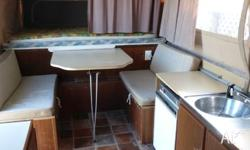 Sunwagon Camper. Good condition for its age. Double
