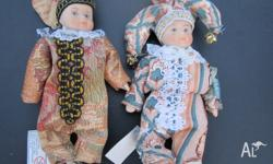 CUTE HAND MADE PORCELAIN DOLLS NEW GREAT CHRISTMAS GIFT