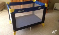 Fold away portable cot. Very good condition. Used by
