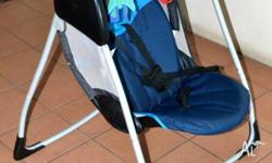 PORTABLE BABY SWING/SEAT - GRACO Model #12201CEE_JJ