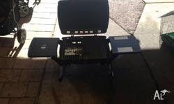 Used portable BBQ perfect for camping attaches to gas