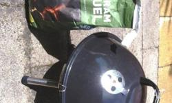 Portable BBQ with 4kg BBQ Fuel and more. All included
