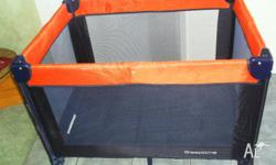 """Sleeptime"" Portable Cot with Base Travel Case."