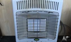 For sale is this portable natural gas heater. It comes