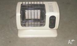 Rinnai portable gas heater $210