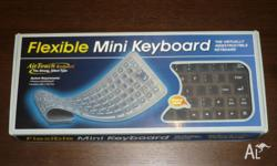 This USB Flexible Keyboard is made from flexible and