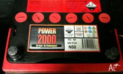 Still new car battery in good working order been used