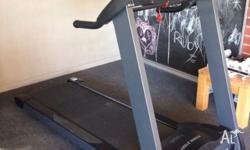 Power First T960 treadmill in excellent condition. Size