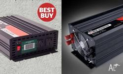 POWER INVERTERS BIG RANGE 300W-6000W. You can run high
