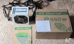 As new, in box. Bought from Compnetronics just over a