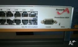 PowerDsine PD-6024 are Power over Ethernet Hubs which