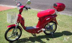 power-ped electric bicycle, used , good condition,
