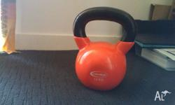 I only used this kettlebell for 2 months and indoors. I