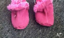 I am selling a pair of girls size 1pre-walker, ugg boot