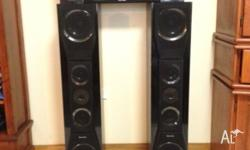 5 SPEAKER SURROUND SOUND SYSTEM ***REDUCED*** * 2 x