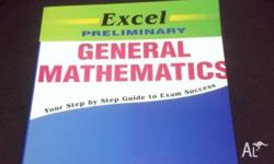 Brand new, never used General Mathematics Textbook.