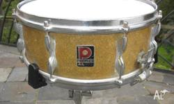 Premier 1960s Vintage, Birch Snare Drum. Parallel