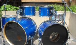 Premier 1968 Vintage 6pce Double Bass Drum Kit. 3ply