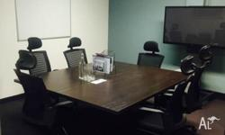 Executive Boardroom now available in the heart of the