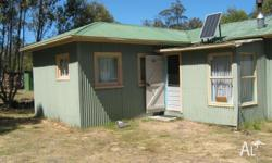 shack on a large freehold block very comfortable and