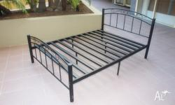 double bed frame size 138(W) x 189(L) x 90(H)cm all