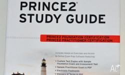 Prince2 Study Guide. Never used. $30. Passing the