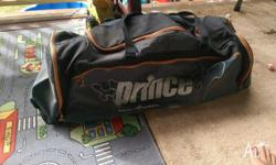 Large Prince Triple Threat Tennis Bag 4 pockets for