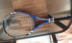 Prince Tennis Racquet. It is a few years old. A bit