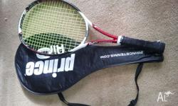 Used Prince Triple Threat Racquet for sale. Come with