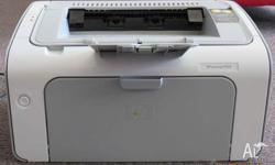 Very clean printer HP P1120 with full cartridge and one
