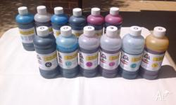 PRINTER INK (6 COLOURS) PHOTO INK IDEAL FOR EPSON
