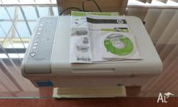 Printer Scanner for sale, All leads & instructions & CD
