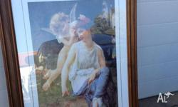 Beautiful framed print of Venus & Cupid by Guillaume