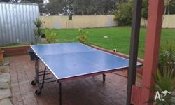 Full size heavy duty pro-table tennis table have had a