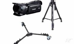Pro Film Maker setup with Canon HF G25 plus Dolly and