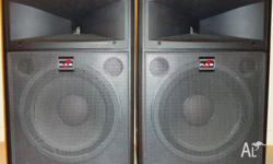 Pair of D.A.S. DS-12 Speakers 600W each. In excellent