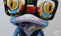 75x75cm This quirky critter is yours to hang in your