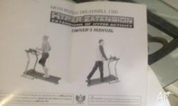 programmable treadmill. great equip. very good
