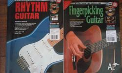 Good guitar instruction books with CD/DVDs Cost ~35