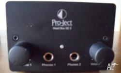 Project Head Box SE2 Quality headphone amplfier for 2