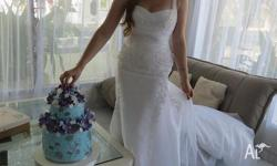 Beautiful Pronovias Barcelona wedding dress. My wedding