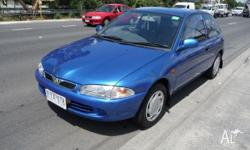 PROTON,SATRIA,1999, FWD, blue, grey trim, 3D HATCHBACK,