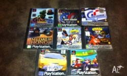 Up for sale is an assortment of ps1 games from my