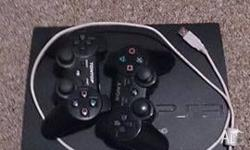 PS3 2 controllers 5 games (call of duty black ops,