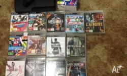 Selling my precious PS3 320gb along with 13 games and