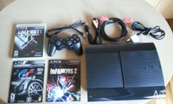 Hi, I'm selling my PS3 500GB + 3 games + 1 controller +