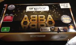 I am selling my PS3 Abba Singstar box set which