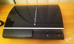 80 gb ps3 with everything needed to play including hdmi
